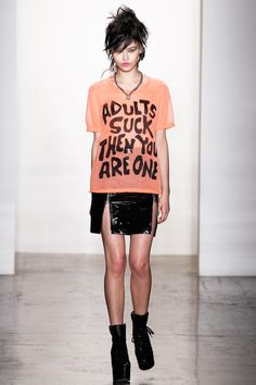 FALL 2013 READY-TO-WEAR  Jeremy Scott