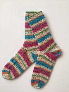 Knitted Women's Sock, Opal Smile