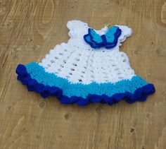 baby girl dress baby butterfly dress baby by NiftyCreations4you