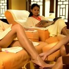 A massage will be good after a long walk in a long white beach SAND of Boracay. <3