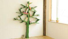 Tree bookshelves!