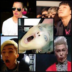 OMG ! WHO'S THE BEST ? HAHAHAHA ! xD BIGBANG ♡ G-Dragon , Daesung , TOP , Seungri , and Taeyang