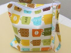 Zipper pouch travel cosmetic foldover toiletries by bagonebagshop, $16.00