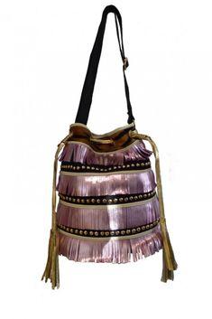 Bolso Saco Rosa con Flecos Bucket Bag, Kids, Fashion, Women's Handbags, Hot Clothes, Fringes, Clothes Shops, Fashion Trends, Women