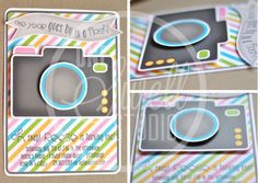 Three Dimensional  Pop Up Camera DIY Printable by oneswellstudio, $16.00