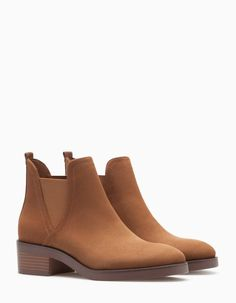 Elasticated ankle boots - BOOTS AND ANKLE BOOTS - WOMAN | Stradivarius Czech Republic