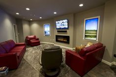 Condo owners have personalized their units by adding fireplaces and belongings.