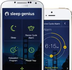 If you have a iOS device visit our website for the iOS version of our Sleep Genius sleeping app.