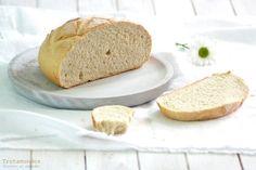 Pan express sin levado. Receta paso a paso con fotos de ingredientes y elaboración. Cómo hacer pan express