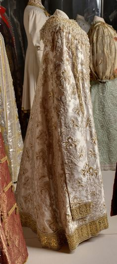 Grand Duchess Xenia Alexandrovna's Costume for the 1903 ball in the Winter Palace.