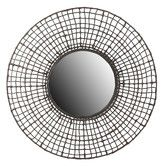 Found it at Wayfair - Woven Wall Mirror $186