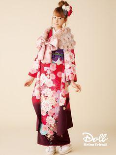 トリンドル玲奈 - Doll - 振袖   振袖レンタル・袴レンタルの着物通販サイト - ishou.jp