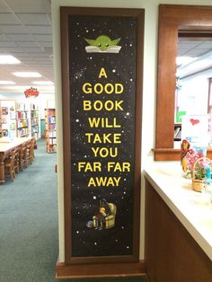 Star Wars library reading Bulletin board. Colleen K