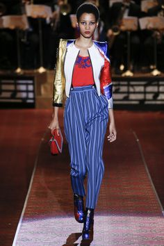 Marc Jacobs Spring 2016 Ready-to-Wear Fashion Show - Lineisy Montero 2016 Fashion Trends, Fashion Week, New York Fashion, Runway Fashion, Fashion Show, Fashion Design, Fashion Addict, Marc Jacobs, Lineisy Montero