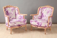 Hey, I found this really awesome Etsy listing at https://www.etsy.com/listing/230332467/2-x-vintage-armchairs-lilac-rose