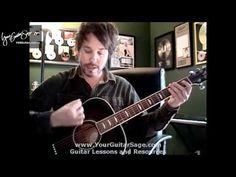 Strumming - Beginner Acoustic Guitar Lesson - YouTube
