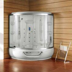Cabina sauna k-524 1580x1580x2250 logi