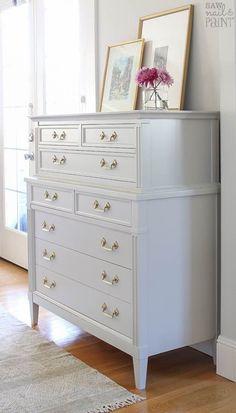 "Morganton Dresser in ""Cumulus Cloud"" - Saw Nail and Paint"