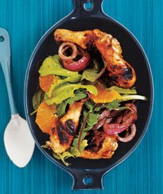 Grilled Chicken Legs With Orange and Rosemary recipe