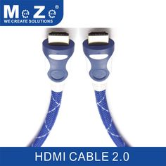 HDMI cable, 2 meters, HDMI 2.0b, 4K at full 60Hz, 18Gbps, HDR, 3D