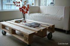 Comment donner une seconde vie à une palette de bois ?