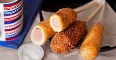 Recette de Sucettes de saucisses à la purée de pommes de terre spéciales Food Art. Facile et rapide à réaliser, goûteuse et diététique.