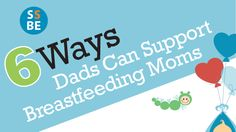 Dads can be at a loss with breastfeeding. They don't know what it's like, they sometimes feel awkward, and it's perhaps the only part of parenthood that both mom and dad can't share or relate with ...