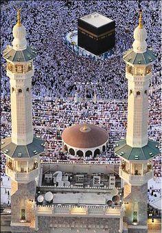 My wish to see the holy land and God home and do Hajj and go to Masjid al Haram Makkah, Saudi Arabia