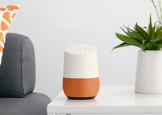 It may look like a minimal speaker, but this new product from Google promises to harness the search giant's data troves to provide all-knowing assistance in the home. Best Smart Home, Google Voice, Home Speakers, Speaker Design, Wifi Router, Home Automation, Tech Gadgets, Fathers Day Gifts, The Voice