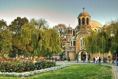 A church in Sofia Bulgaria  ( via DanBachmann )