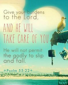 If you are in fellowship with the Lord, he will not let you fall.