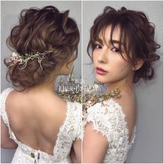 91 best wedding hairstyles for short and long hair 2018 - Hairstyles Trends Short Bridal Hair, Bridal Hair Updo, Bridal Hair And Makeup, Hair Makeup, Best Wedding Hairstyles, Bride Hairstyles, Pretty Hairstyles, Hair Design For Wedding, Hair Arrange