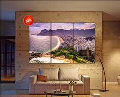 Rio De Janeiro canvas art prints large wall art black white canvas print Ipanema Beach, Rio De Janeiro Cityscape skyline City Office Decor by CanvasConquest on Etsy https://www.etsy.com/listing/398528517/rio-de-janeiro-canvas-art-prints-large