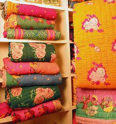 lisa corti bedding by rachel best, via Flickr