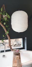 Grote lampion mét fitting en snoer | Lampen | www.landelijkenstoerrr.nl Table Lamp, Bohemian, Lighting, Home Decor, Style, Swag, Table Lamps, Decoration Home, Room Decor