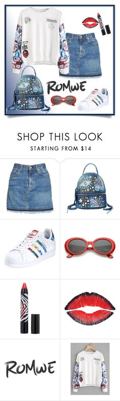 """Romwe Contest"" by karenxxander ❤ liked on Polyvore featuring rag & bone/JEAN, Steve Madden, adidas, Sisley and Givenchy"