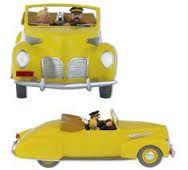 Capitaine Haddock, Tintin et Milou en route pour Saint Nazaire