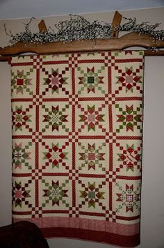 I would love some company in making a quilt and am inviting you to sew along with me! I fell in love with this quilt last year. It is called...