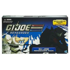 GI Joe Renegades Amazon Exclusive  4 Pack Duke, Snake Eyes, Stormshadow, Red Ninja Viper.