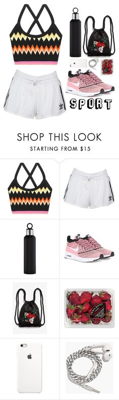 """""""Sports destinations"""" by blackzevs04 ❤ liked on Polyvore featuring Missoni, adidas Originals, blomus, NIKE, Monki, FRUIT and Madewell"""