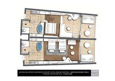 InterContinental Sanya Haitang Bay Resort Sanya, Hotels And Resorts, Bed Room, Layouts, Floor Plans, The Unit, House Design, How To Plan, Modern