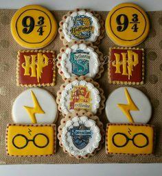 harry potter wedding cookies