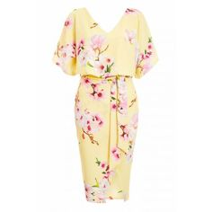 Buy Quiz Tie Belt Batwing Dress from the Next UK online shop Midi Dresses Online, Dress Online, Sam Faiers, Batwing Dress, Belt Tying, Bat Wings, Yellow Dress, Latest Fashion For Women, Skirt Fashion