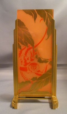 DeVilbiss Art Deco Perfume Lamp 1928 from fantiques on Ruby Lane