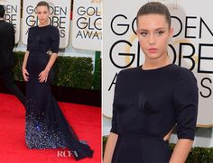 Adèle Exarchopoulos In Miu Miu – 2014 Golden Globe Awards