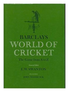 Book: Barclays World Of Cricket
