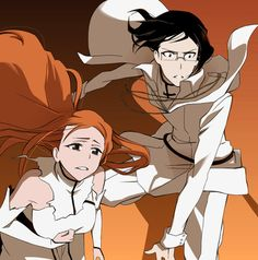 Inoue Orihime & Ishida Uryuu, I don't know bout' you, but i see a perfect couple right there
