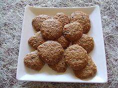 Galletas de avena y plátano para el colesterol – a Bajar Colesterol Healthy Muffins, Lower Cholesterol, Tamales, Deli, Dog Food Recipes, Almond, Snacks, Cookies, Kuchen