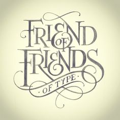 Friends of type