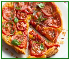 Low FODMAP Gluten Free - Tomato Tarte Tatin http://www.ibssanoplus.com/low_fodmap_tomato_tarte_tatin.html